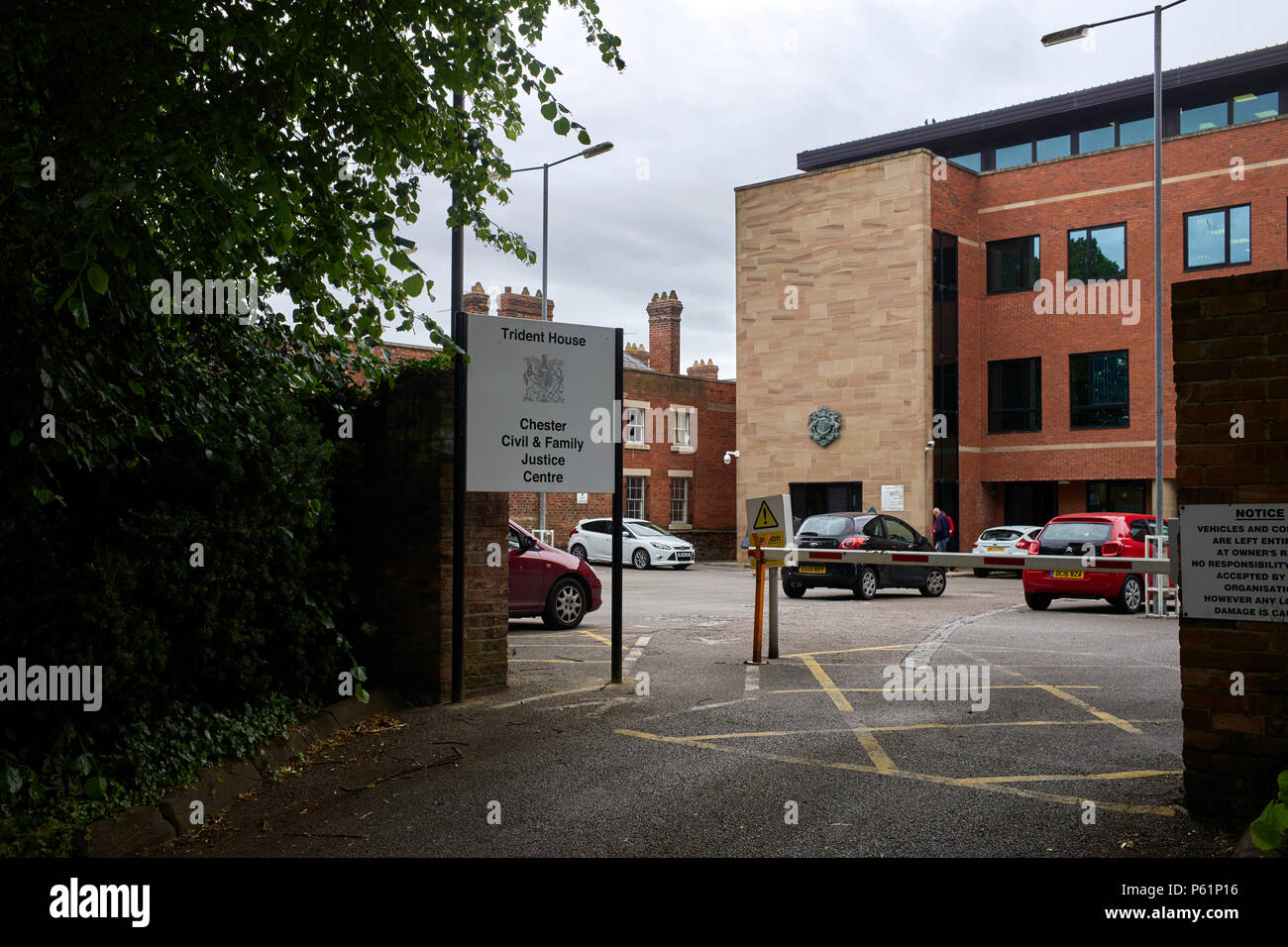 Trident House the Chester Civil and Family Justice Centre - Stock Image