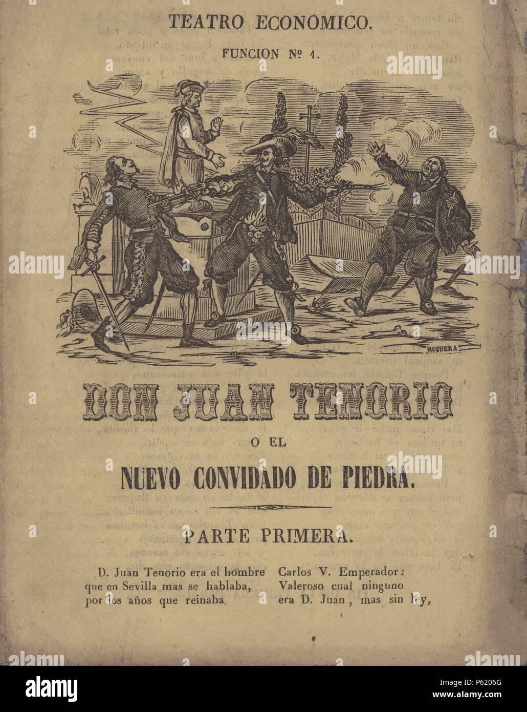 Resultado de imagen de don Juan Tenorio