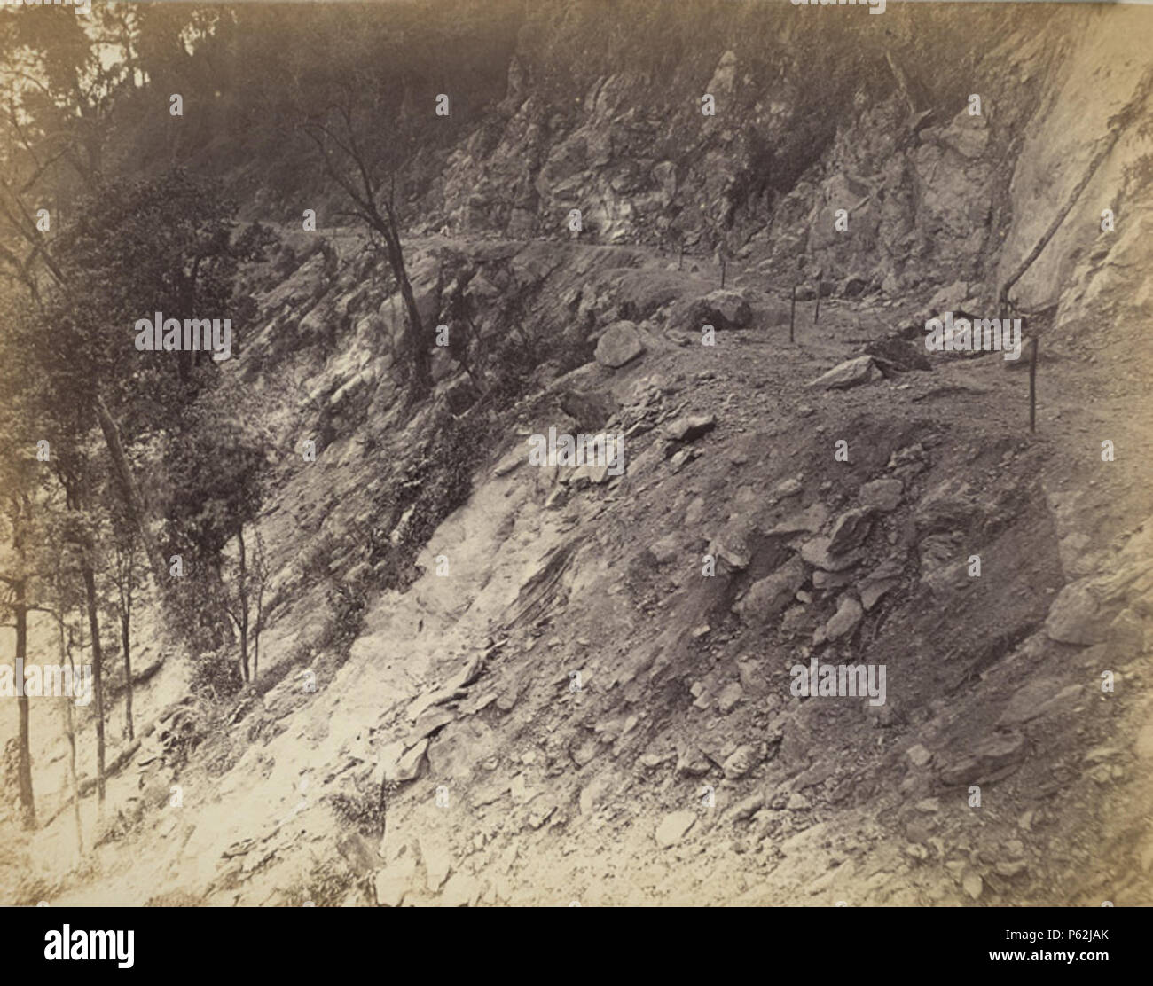 N/A  English: Two miles above Gyabarry, looking South Photograph