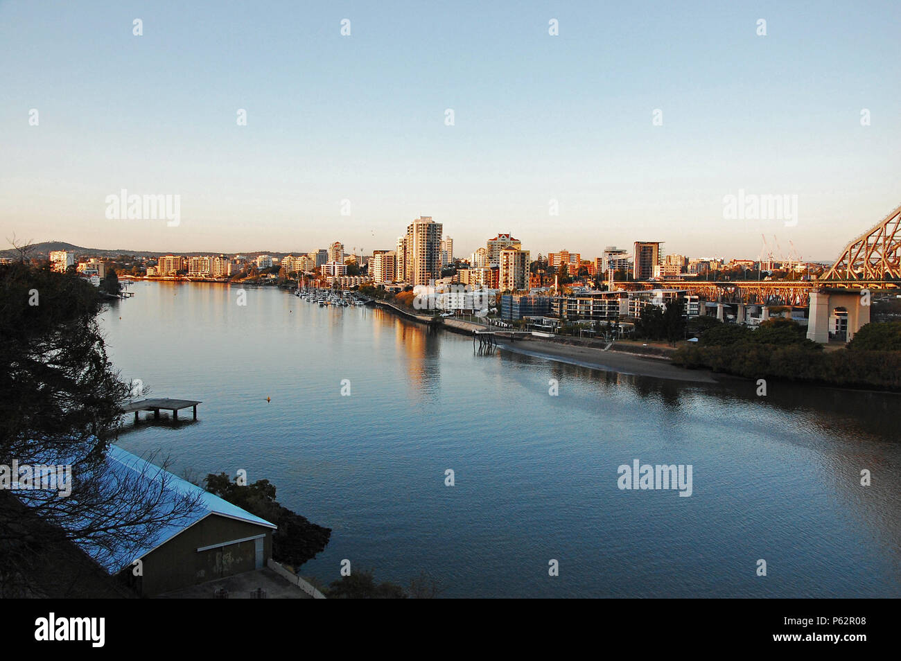 Brisbane River View - Stock Image