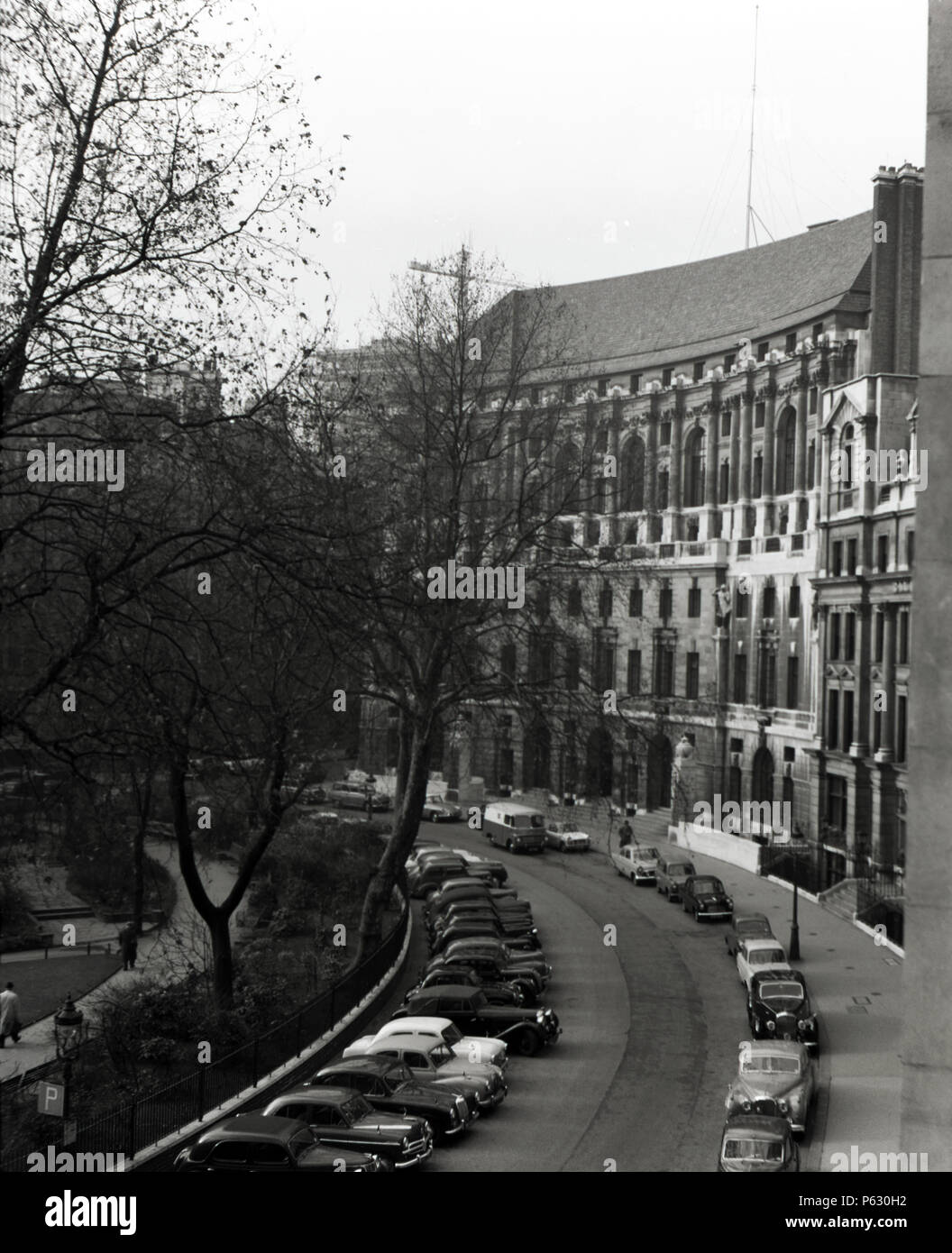 Various buildings in Finsbury Circus, London, England, 1959 - Stock Image