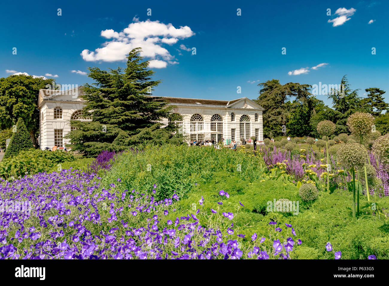 The Orangery At The Royal Botanic Gardens, Kew - Stock Image