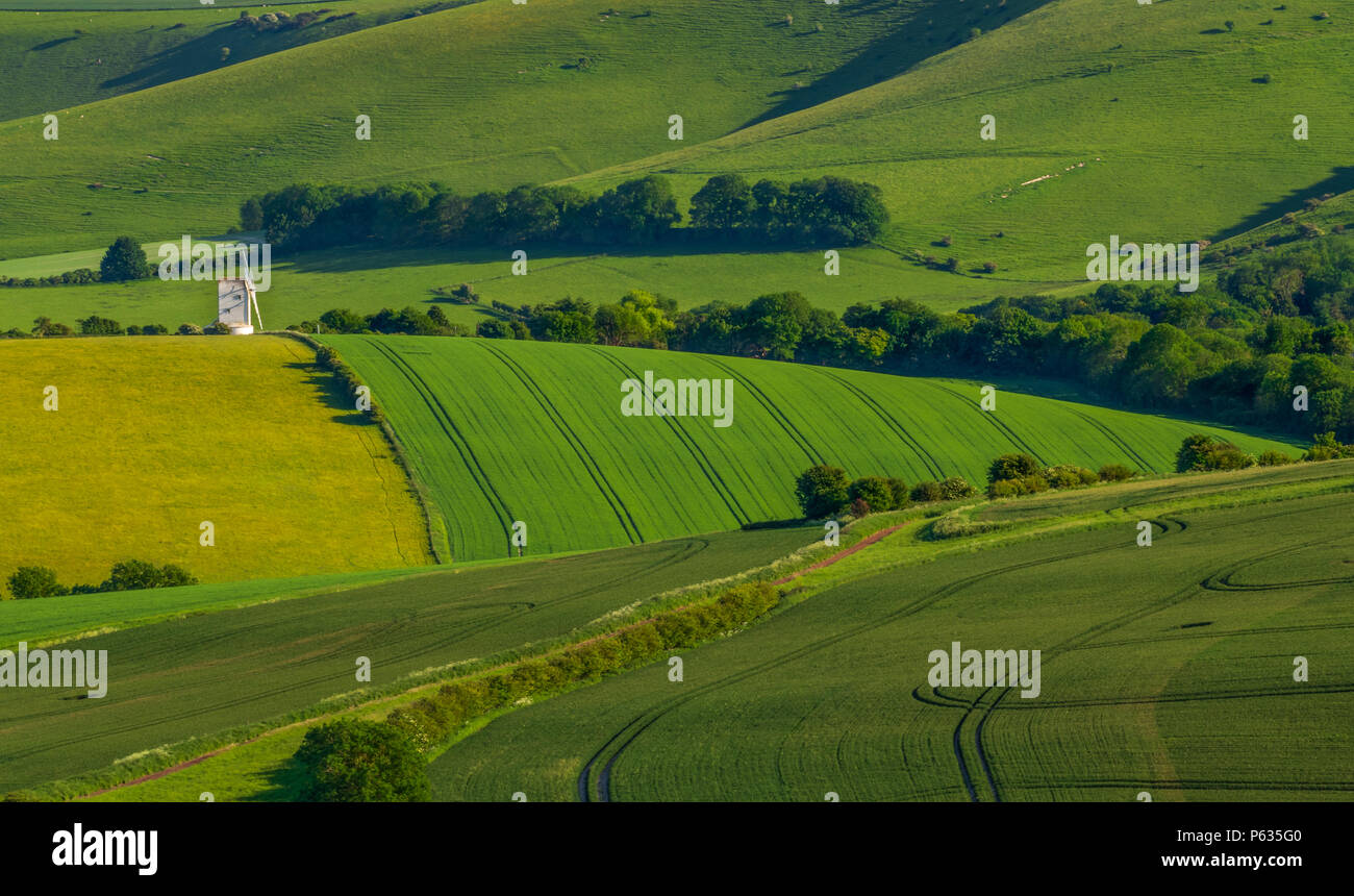 Ashcombe mill Stock Photo