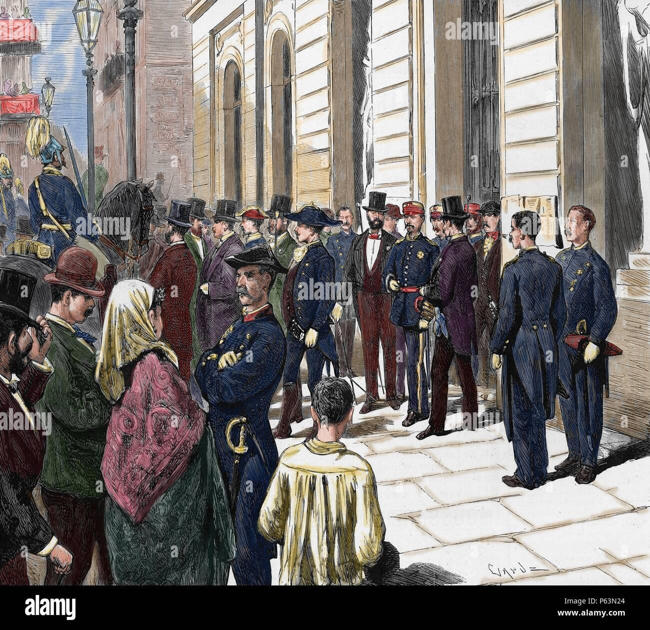 Arsenio Martinez Campos (1831-1900)  Spanish military
