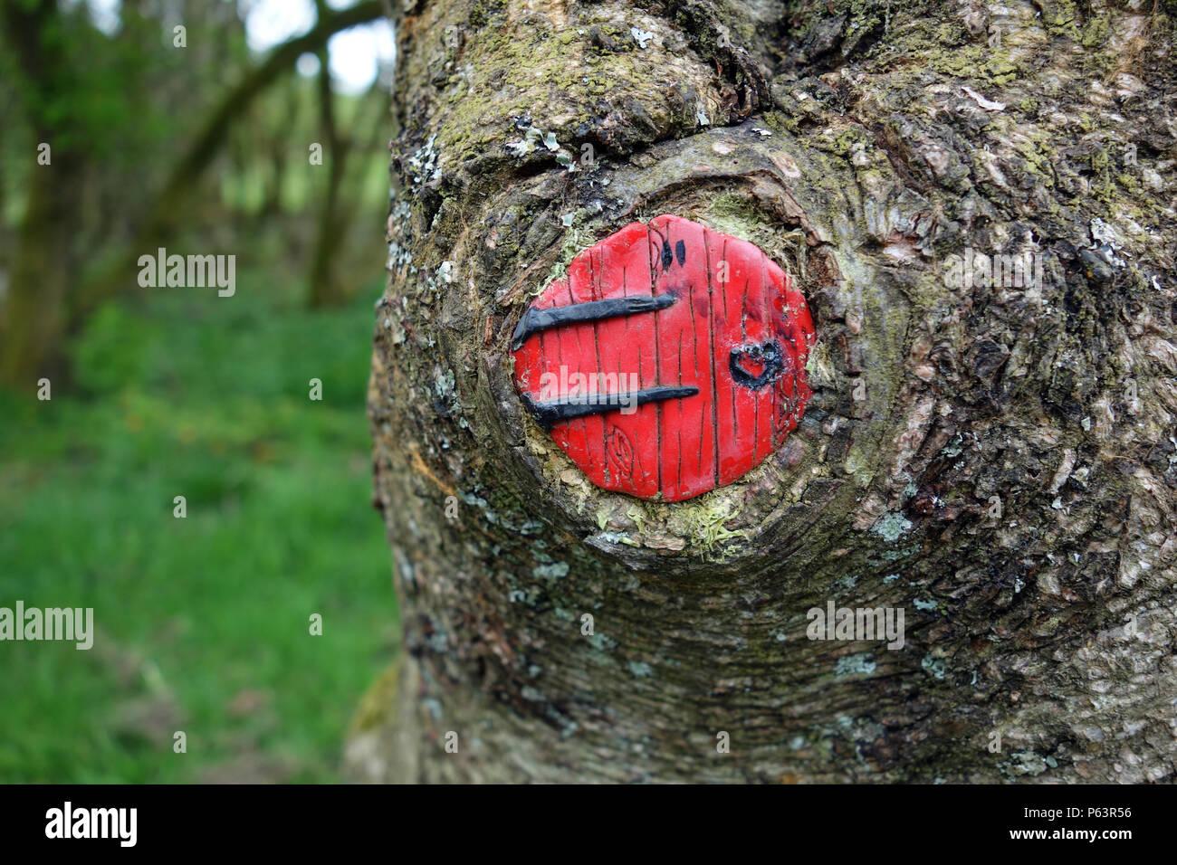 Fairy Door Tree Stock Photos Fairy Door Tree Stock Images Alamy
