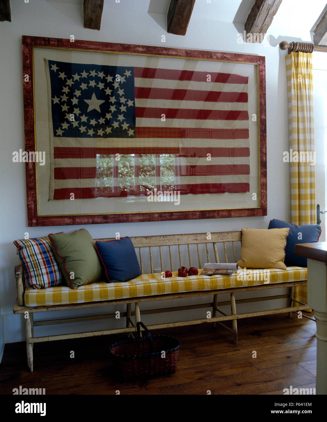 American Flag Framed Stock Photos & American Flag Framed Stock ...