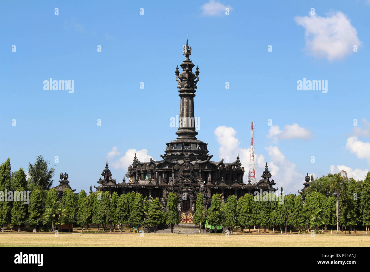 The monument of Bajra Sandhi in Renon, Indonesia. Commemorating the struggle of Balinese people throughout history. - Stock Image