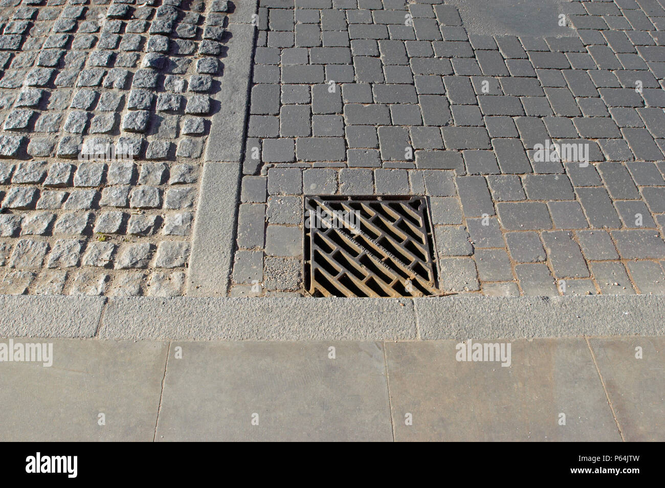 Pedestrian Traffic Calming Stock Photos Pedestrian Traffic Calming