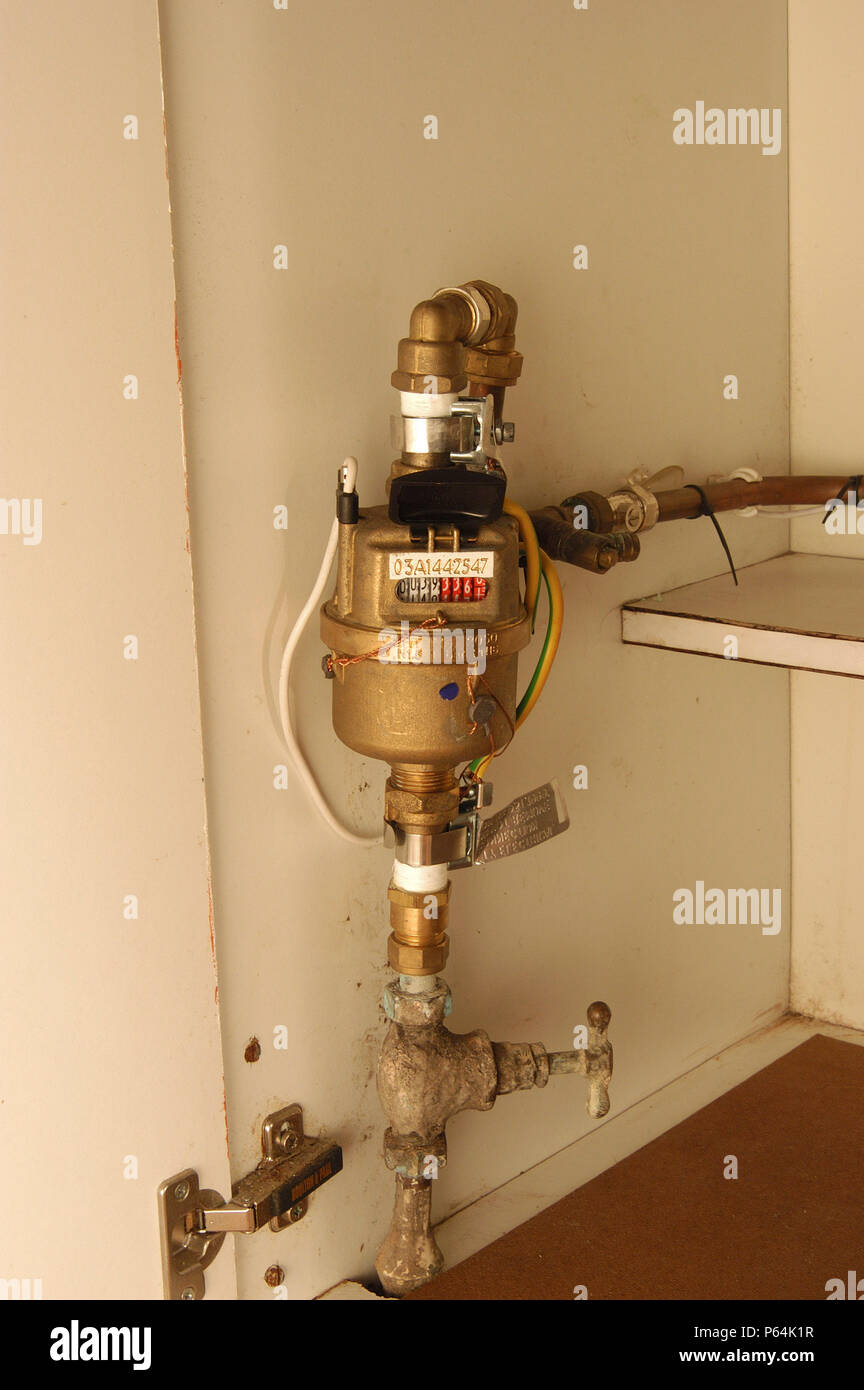 Residential Water Meter High Resolution Stock Photography And Images Alamy