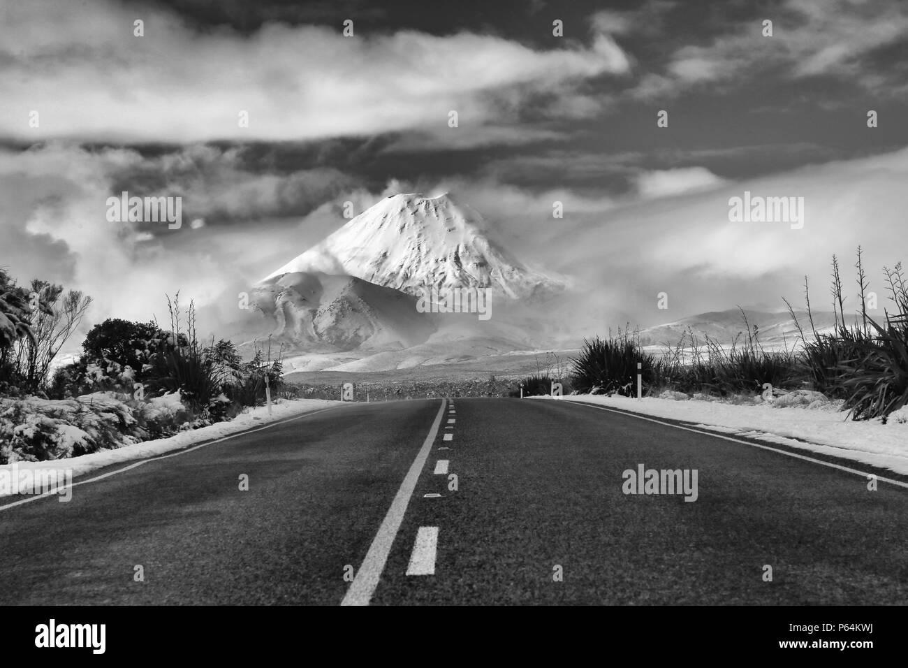 Mount Ngauruhoe - Stock Image