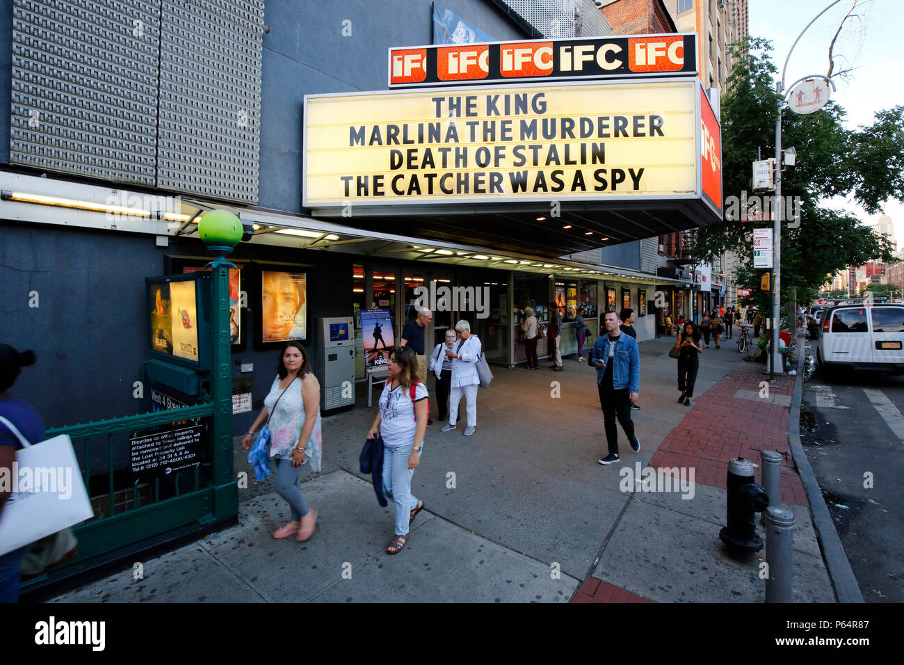 IFC Center, 323 6th Ave, New York, NY - Stock Image