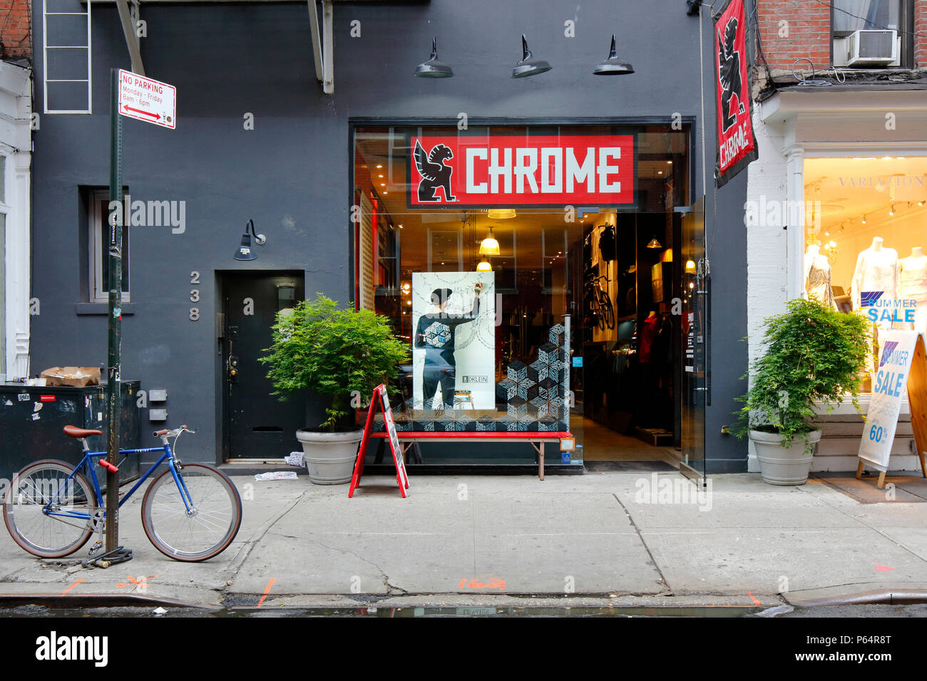 Chrome Industries, 238 Mulberry St, New York, NY - Stock Image