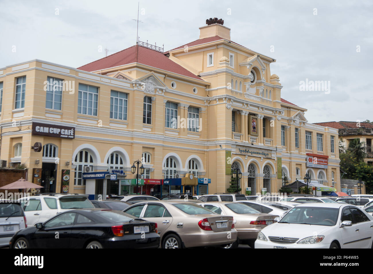 Cambodia phnom penh french colonial stock photos cambodia phnom penh french colonial stock - Foreign and colonial office ...