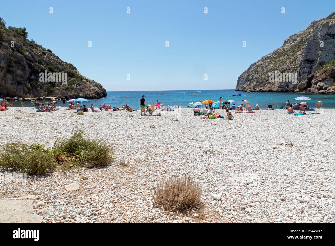 Playa De La Granadella In Javea Spain Stock Photo Alamy