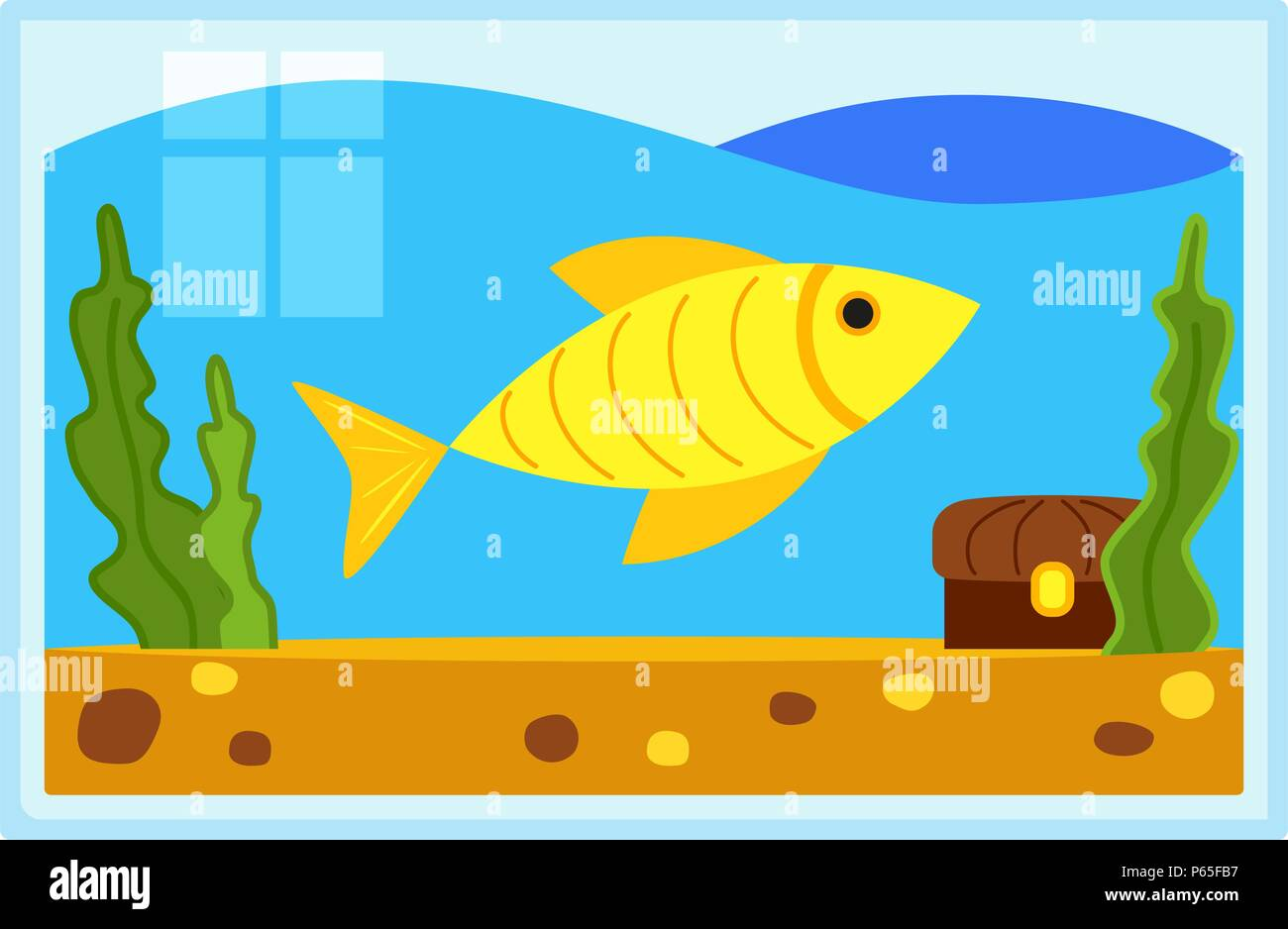 Fishtank Stock Vector Images Alamy