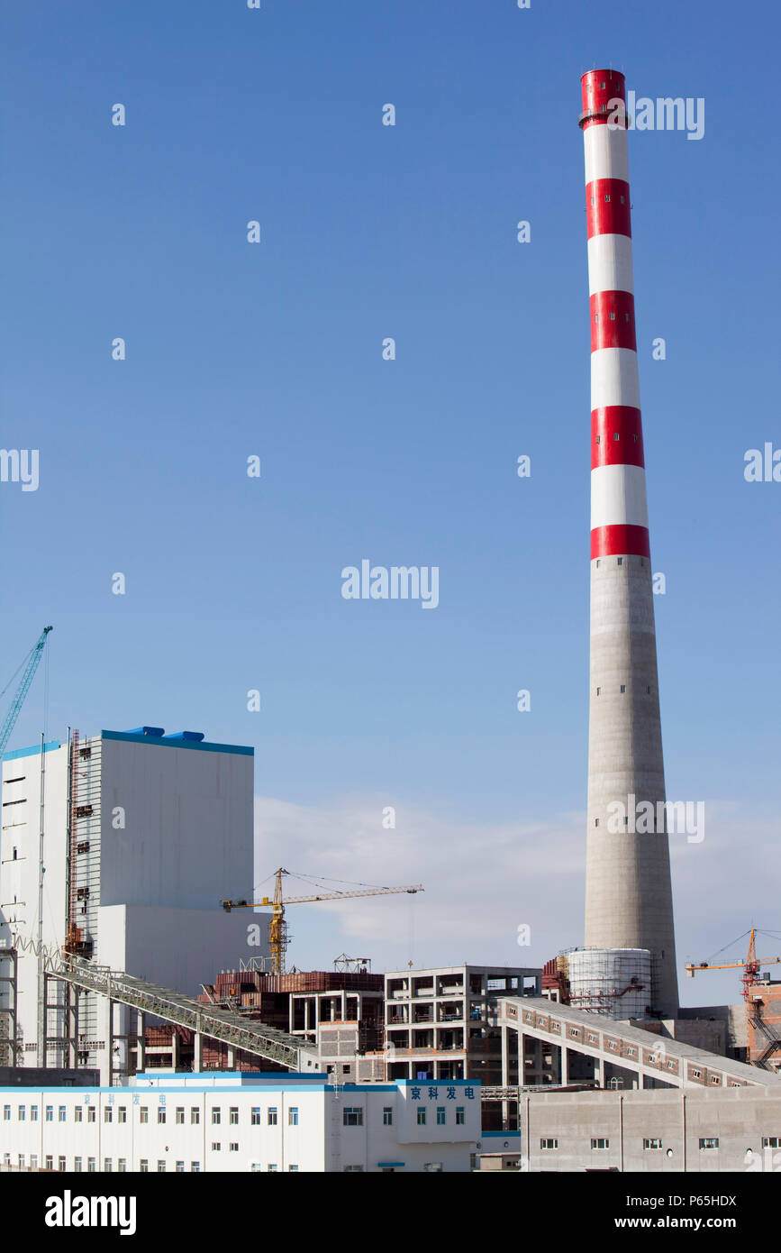 In 2008 China officially became the worlds largest emitter of C02 (greenhouse gases), largely driven by its ever increasing demand for energy most of  - Stock Image