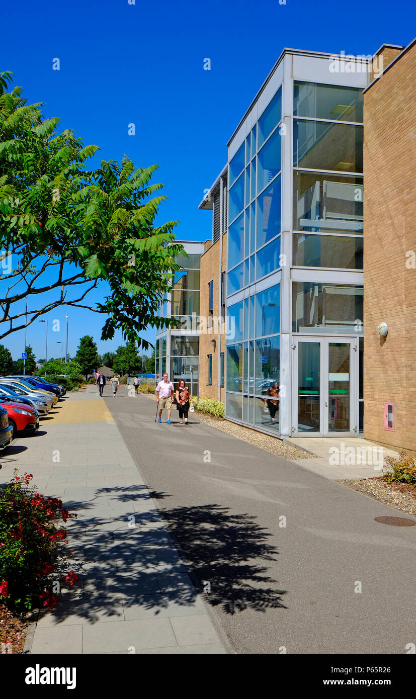 norfolk and norwich university hospital, nhs, national health service, england - Stock Image
