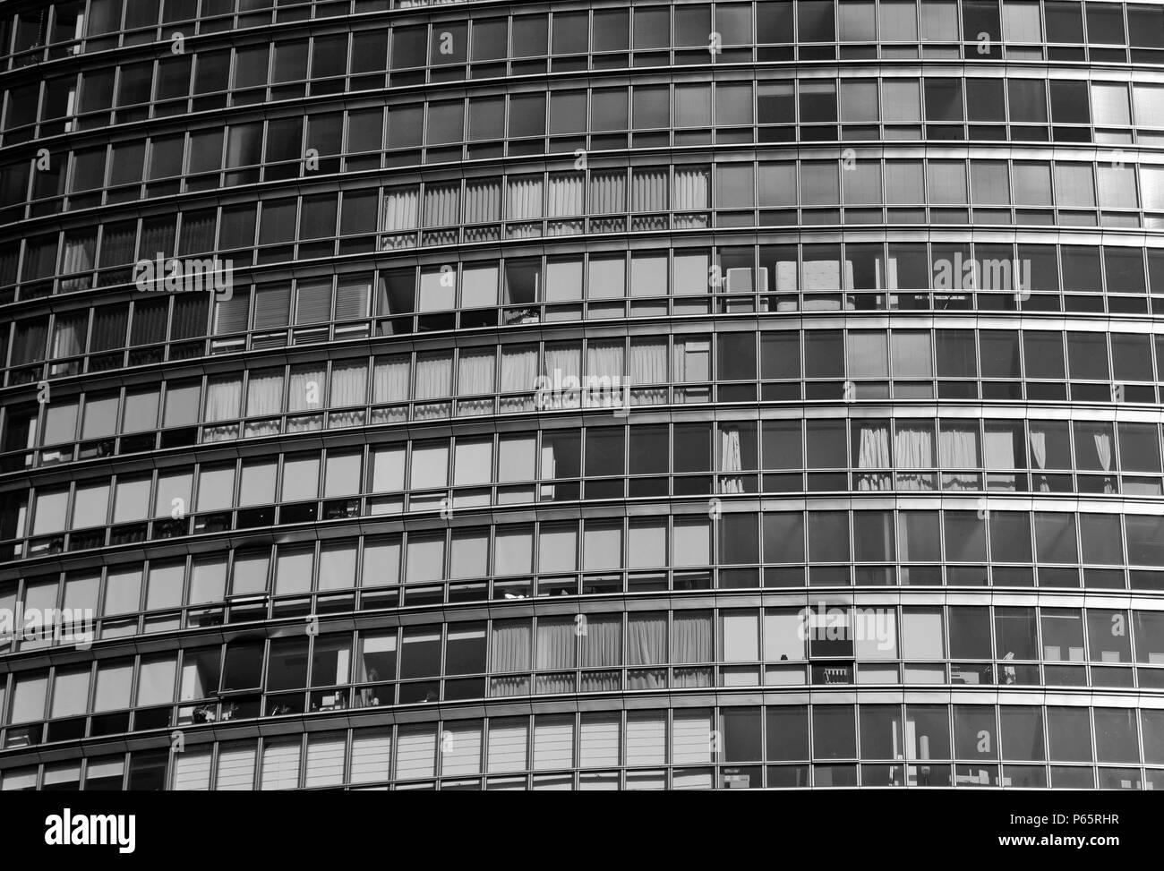 Marriott Executive Apartments, London Docklands, England, UK - Stock Image