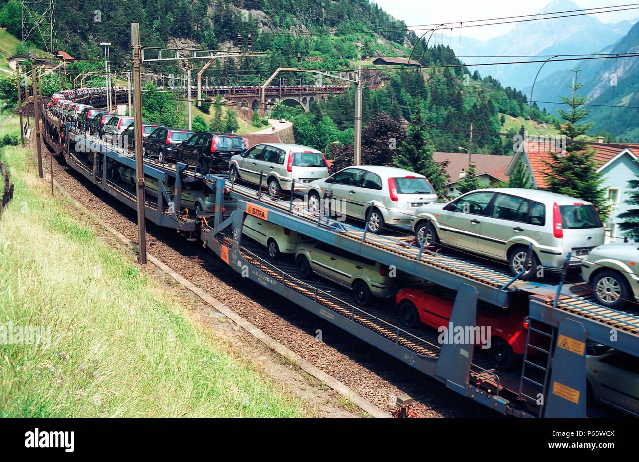 транспортер поезда