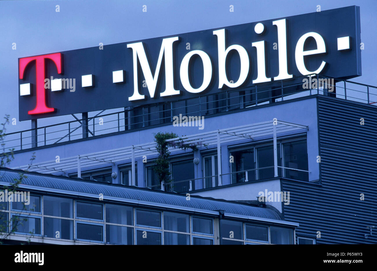 Headquarters Of T Mobile In Bonn Germany Stock Photo 210342471 Alamy
