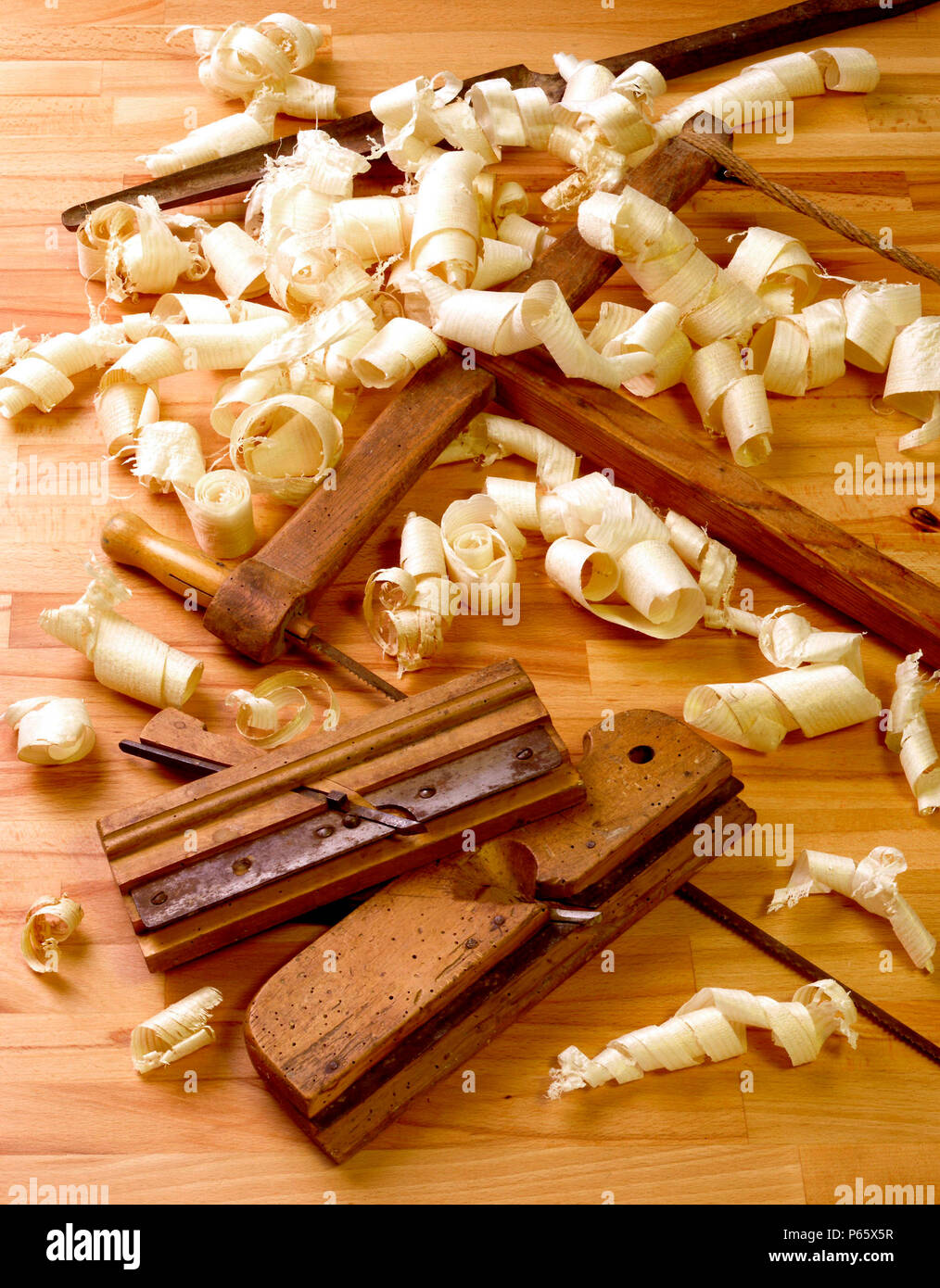 Old Tools Of Cabinet Makers Close Up Stock Photo 210342659 Alamy