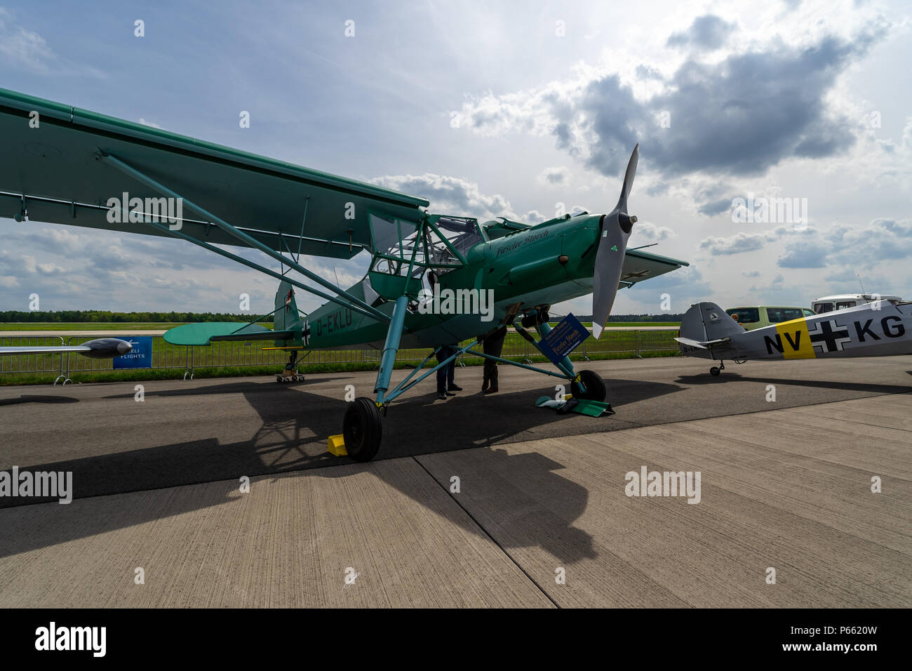 German Small Aircraft Stock Photos & German Small Aircraft