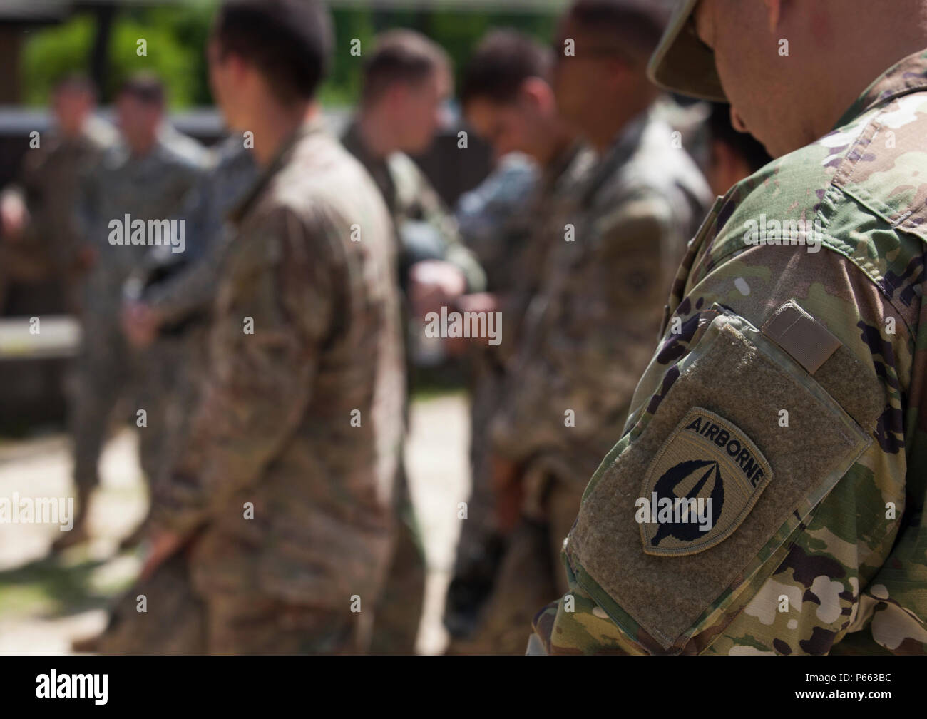 U S  Army soldiers from the United States Army Special