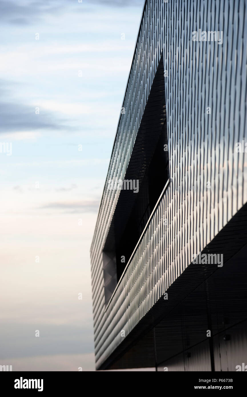 Steel Cladding Stock Photos & Steel Cladding Stock Images