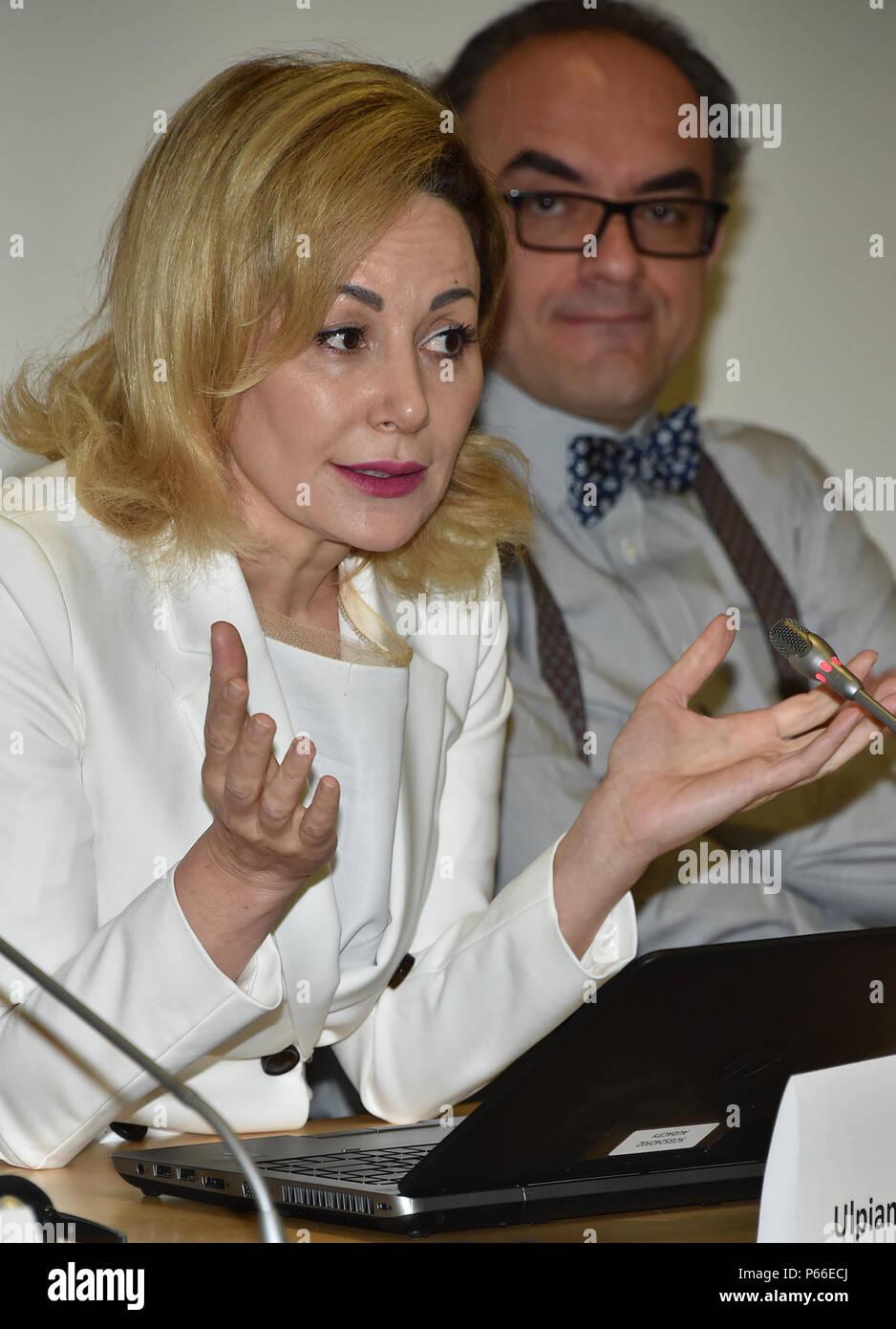 Ulpiana Lama, director of the Department for International