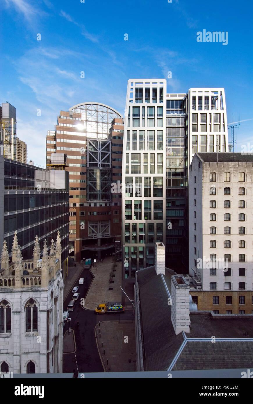 5 Aldermanbury Square London Architect Eric Parry UK