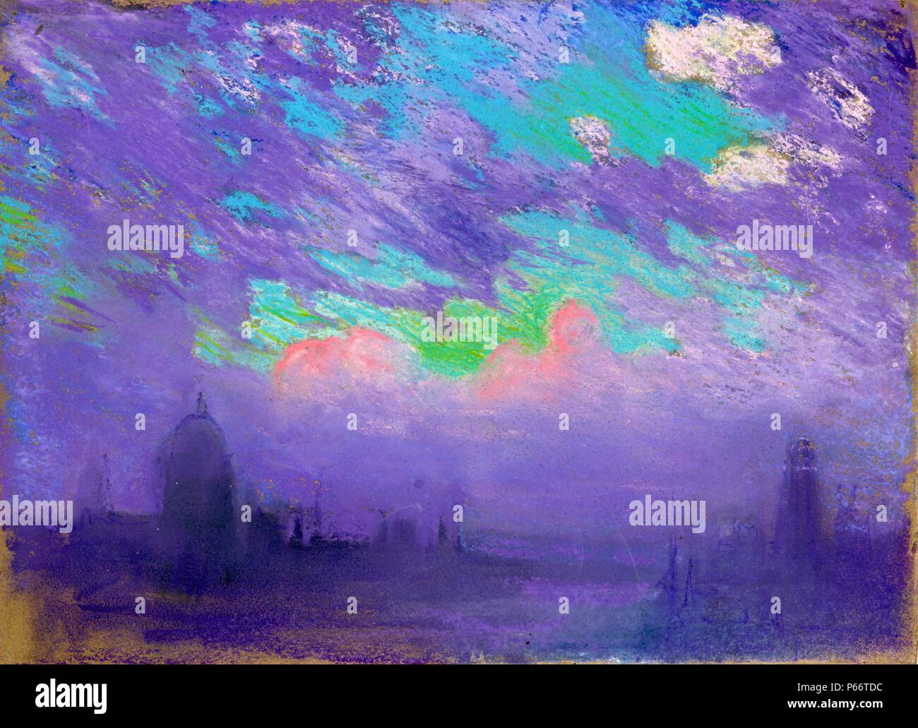 Blue And Purple By American Artist Joseph Pennell High Resolution Stock Photography And Images Alamy