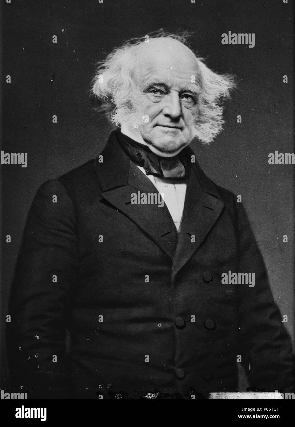 Martin Van Buren (December 5, 1782 – July 24, 1862) was the eighth President of the United States (1837–1841). Stock Photo