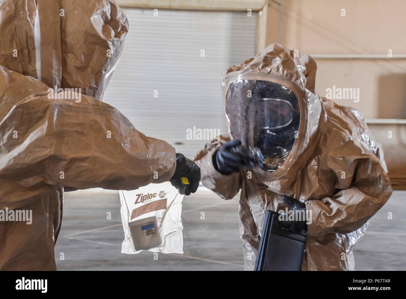 U S  Army Reserve soldiers with the 369th Chemical Company
