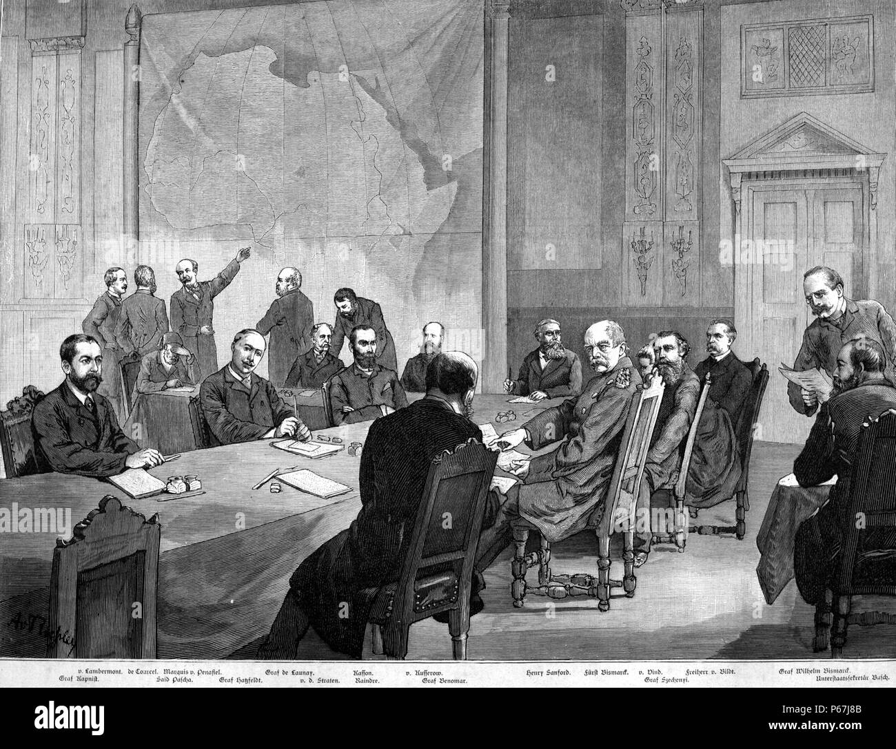 The Congo conference 1884-1885- Berlin laid the basis for the scramble for  Africa copy