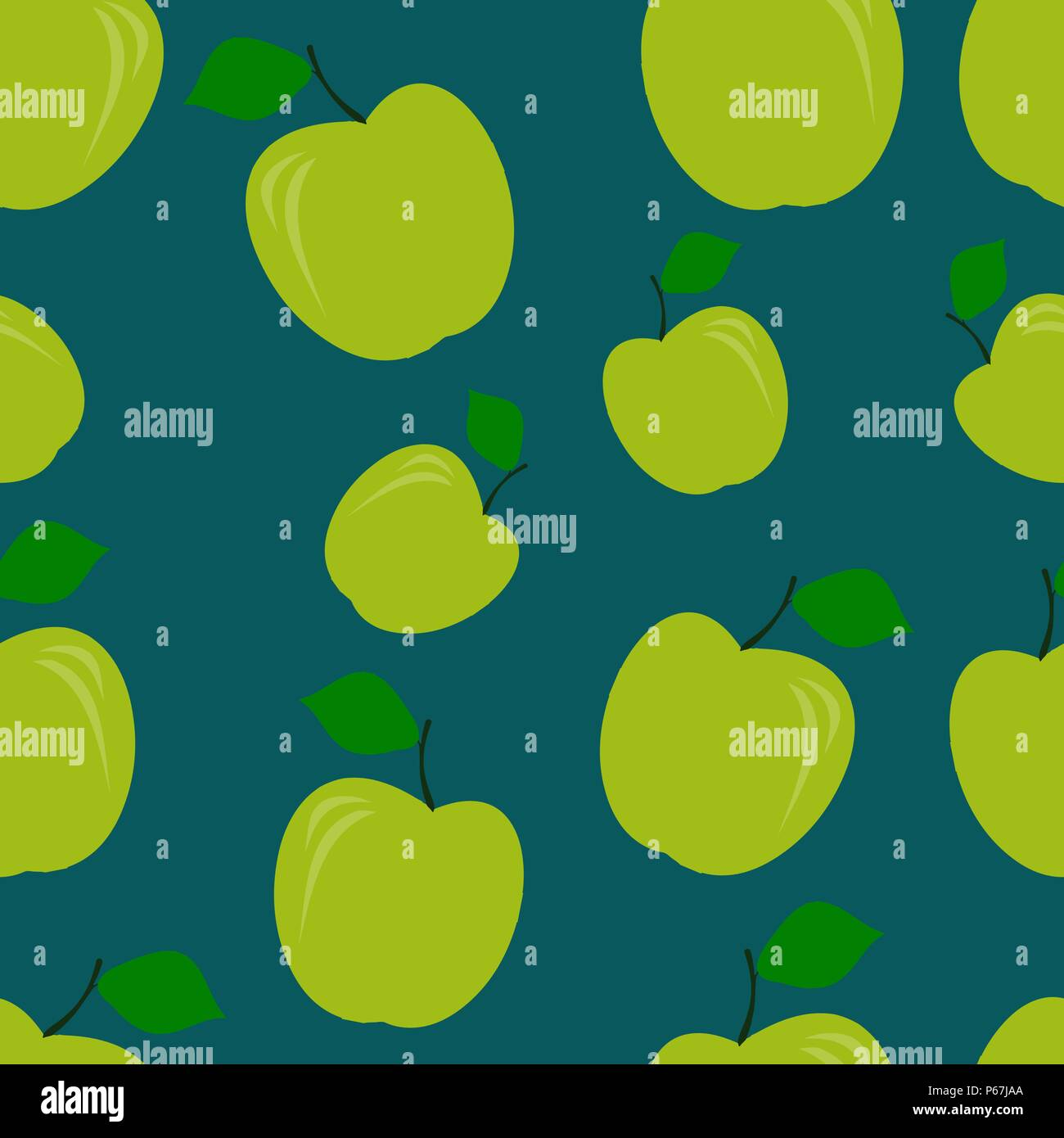 green apple pattern seamless vector illustration food wallpapersgreen apple pattern seamless vector illustration food wallpapers from fruit pantone color