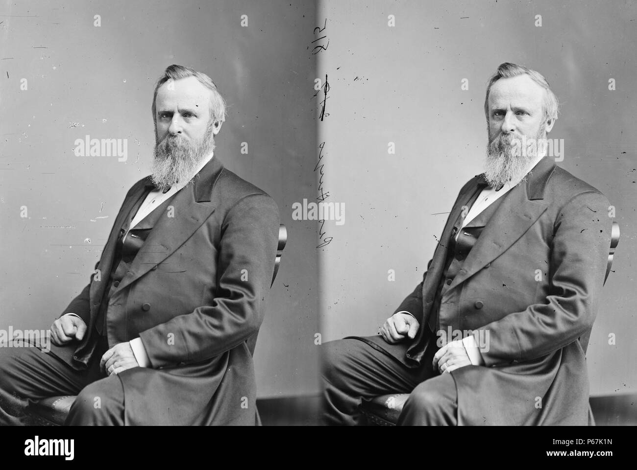 President rutherford hayes stock photos president rutherford hayes