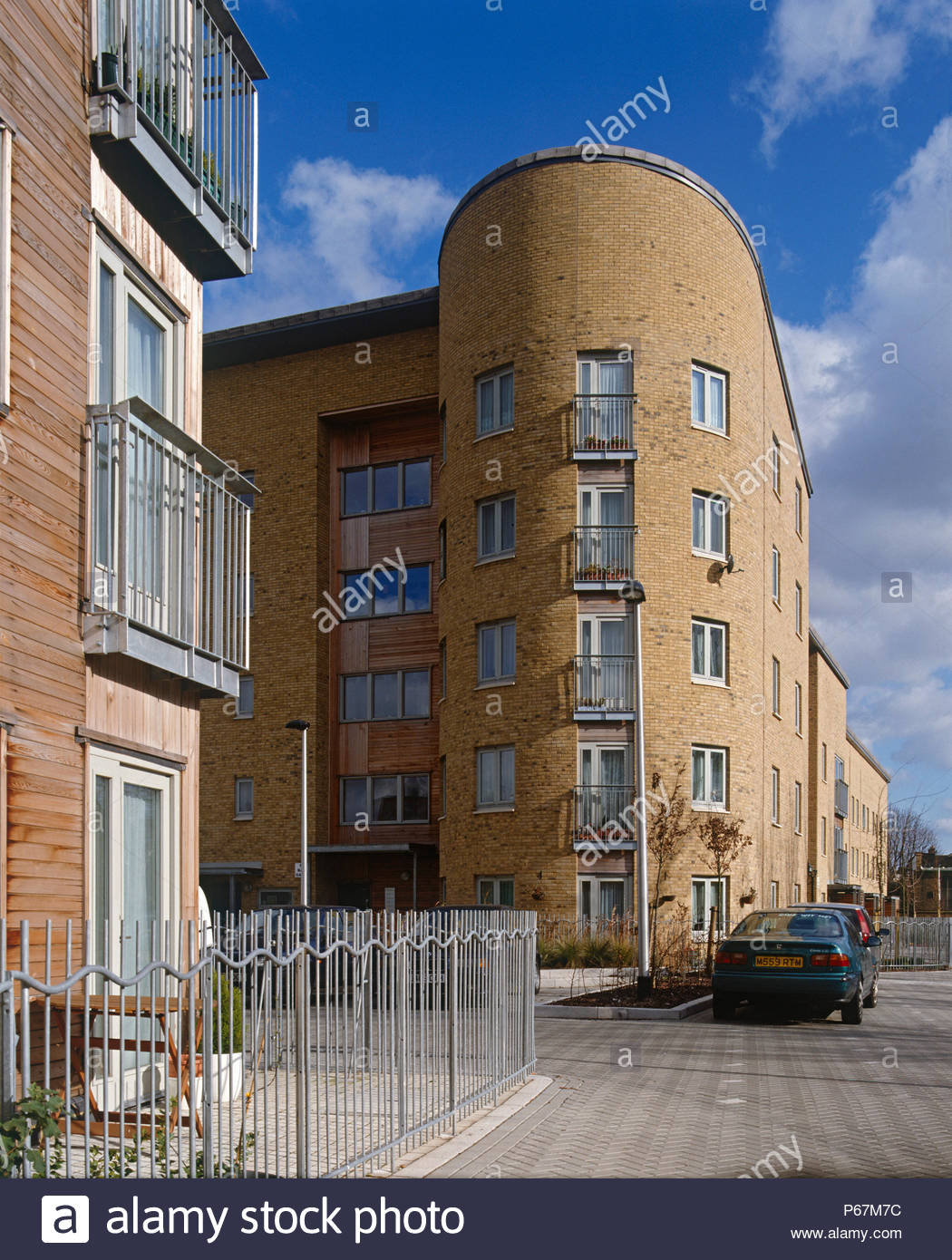 Kender Estate, Lewisham, London. The first phase of new homes for rent and shared ownership. The homes are being built to 'Lifetime Homes' standards a - Stock Image
