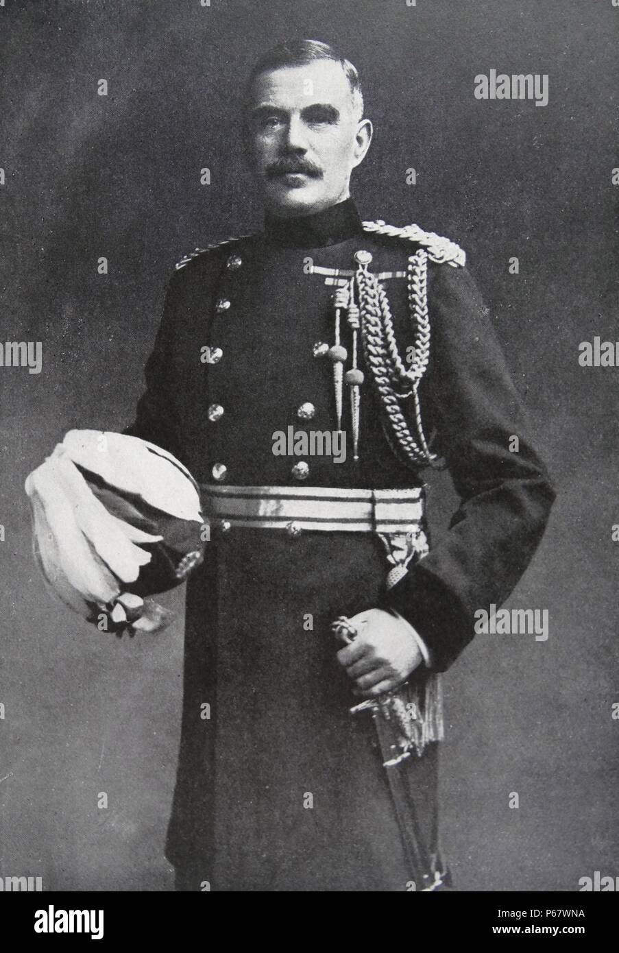Field Marshal Sir William Robert Robertson, (29 January 1860 – 12 February 1933). British Army officer who served as Chief of the Imperial General Staff, from 1916 to 1918, during the First World War. Stock Photo