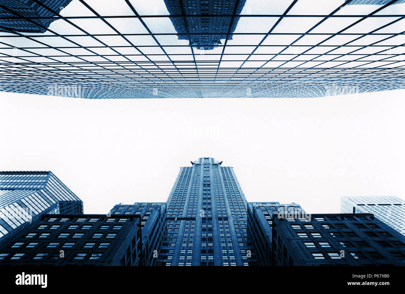 High Rise in New York - Stock Image