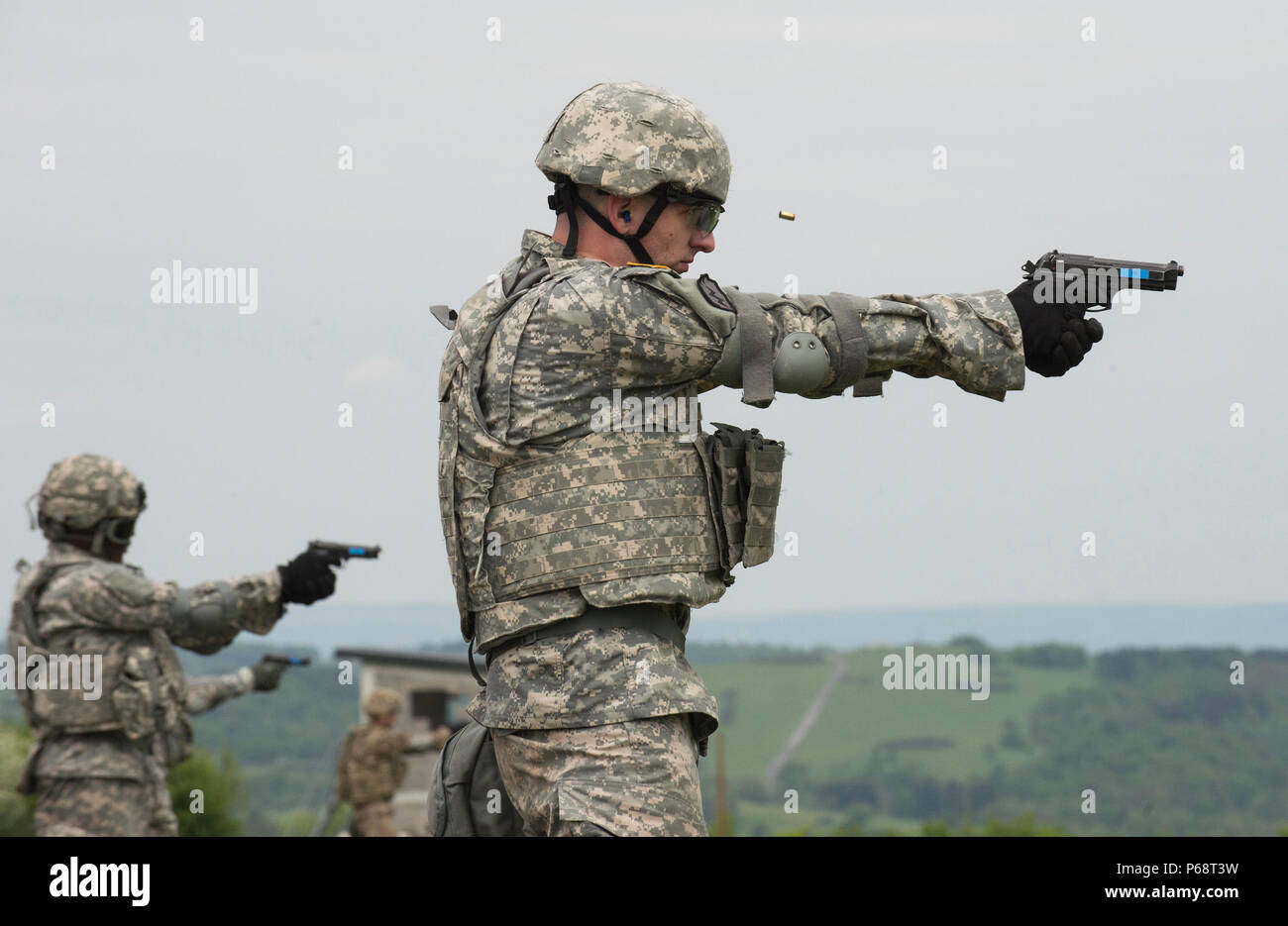 U S  Army 2nd Lieutenant Brandt Ange, a competitor in the
