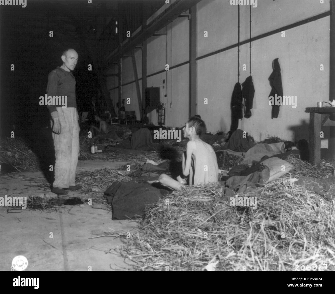 What happened during the liberation of the concentration camps. Austria 1945 (Tin)
