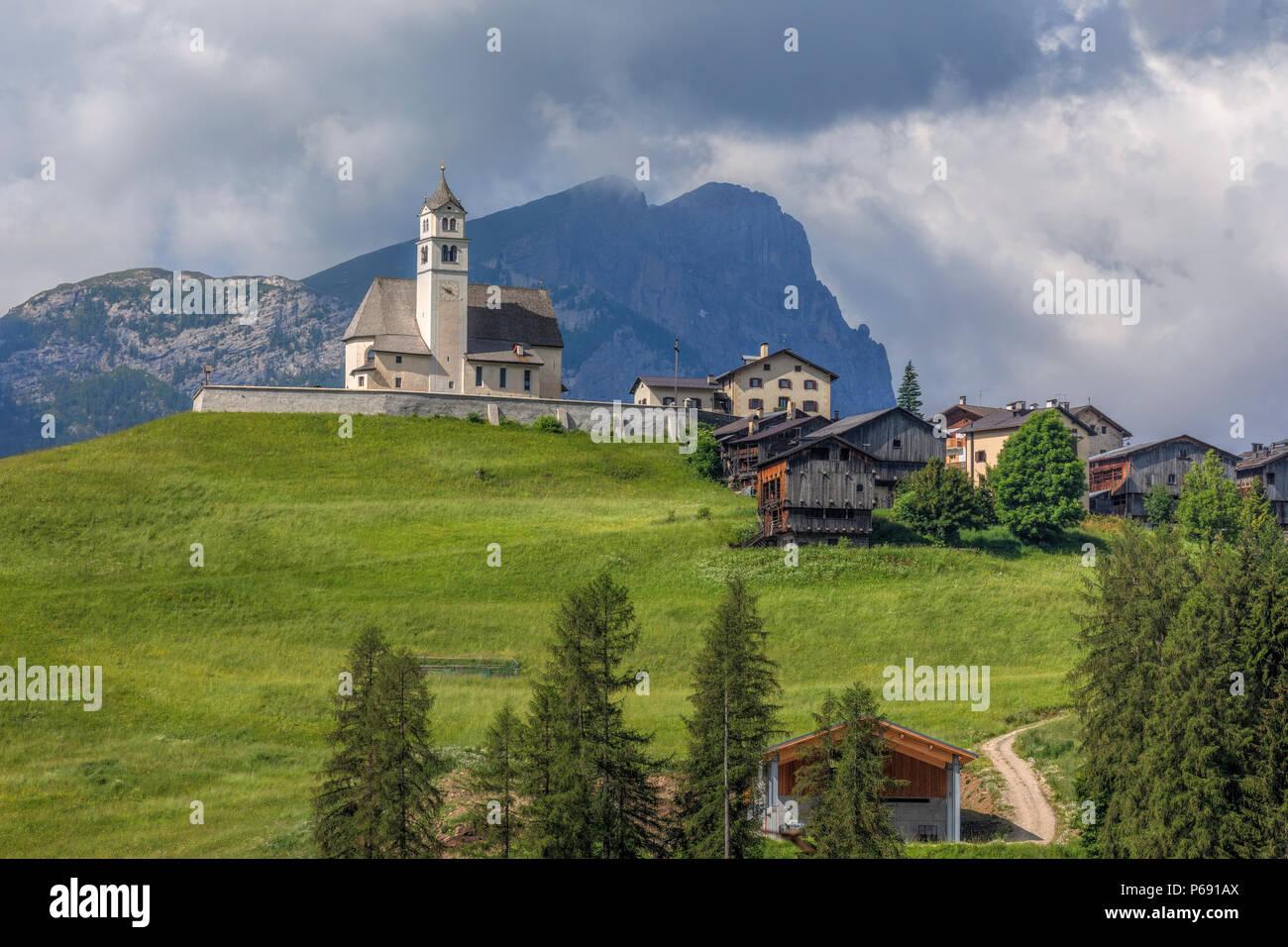 Colle Santa Lucia, Belluno, Veneto, Dolomites, Italy, Europe - Stock Image