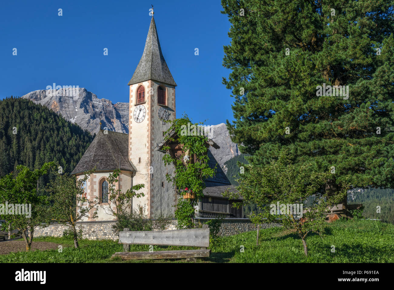 Oberhaus, Bolzano, Dolomites, Italy, Europe - Stock Image