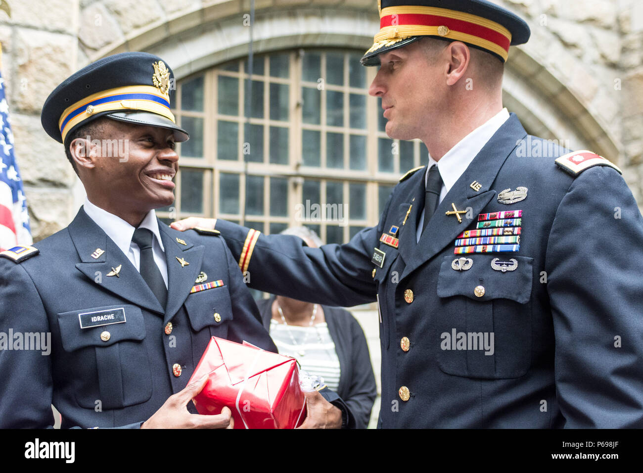 Newly Commissioned 2nd Lt Alix Schoelcher Idrache Became The