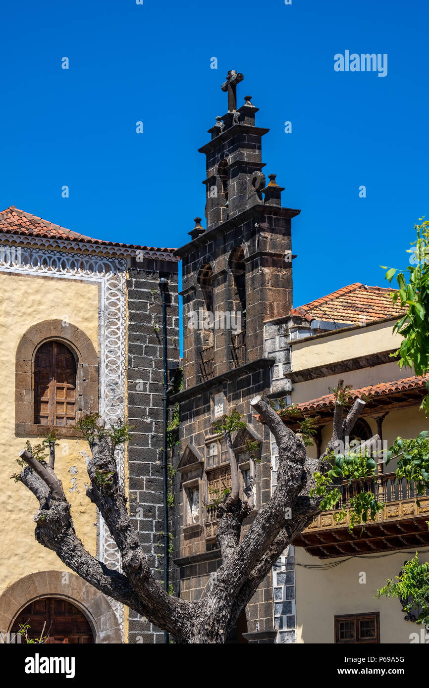 The City Of La Orotava In The North Of Tenerife Is A Symbol Of