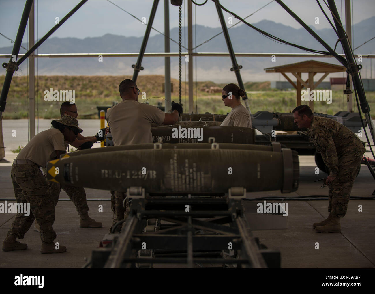 288be08d067e2 Airmen from the 455th Expeditionary Maintenance Squadron