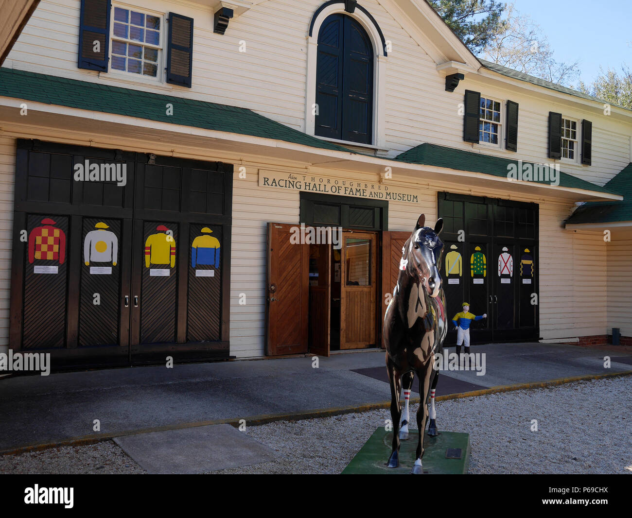 Aiken Thoroughbred Racing Hall of Fame and Museum, Aiken SC USA - Stock Image