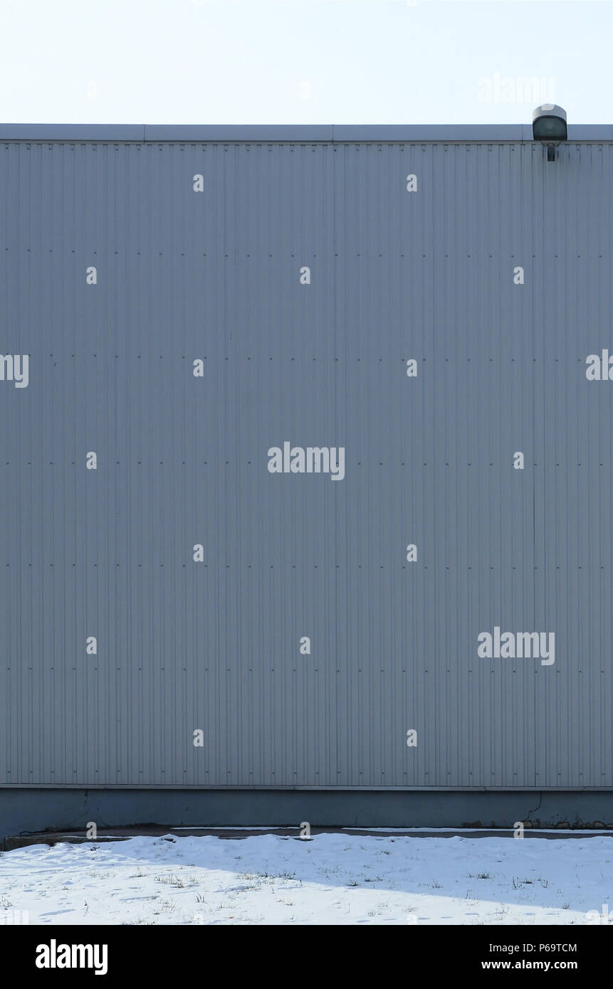 Industrial garage door texture Metal Plate Texture Of High Metal Wall Of An Industrial Building Without Windows Stock Image Alamy Garage Shutters Garage Door Stock Photos Garage Shutters Garage
