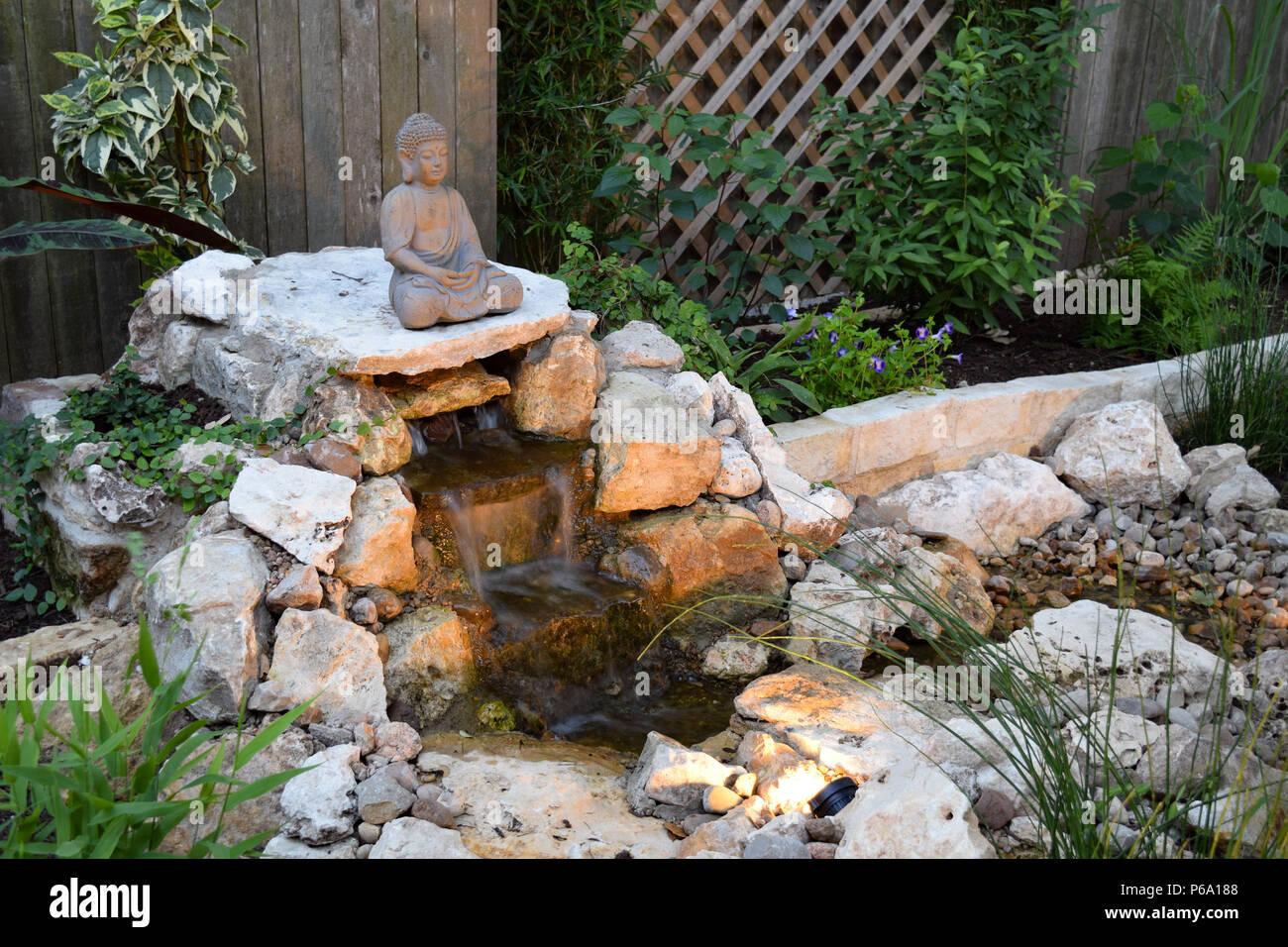 Fai Da Te Giardino Zen a do-it-yourself disappearing fountain and zen garden