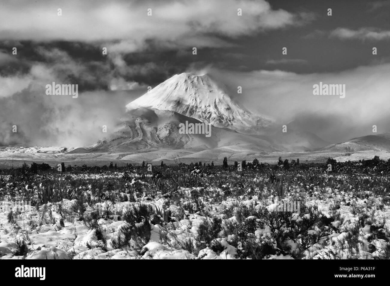 Mount Ngaurohoe - Stock Image
